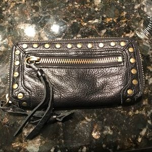 Linea Pelle small carry all wallet/clutch